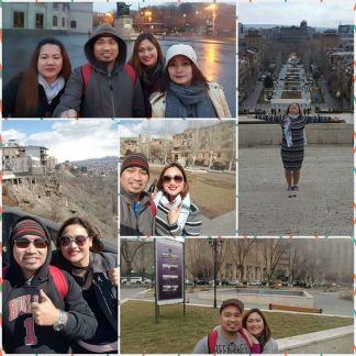Touring Armenia